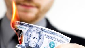 Burning Money 300x169 - Blog